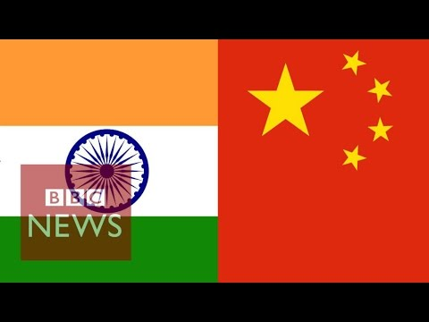 India vs China in 60 seconds – BBC News