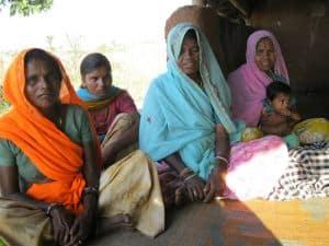 Women Attend Village Health Nutrition Day