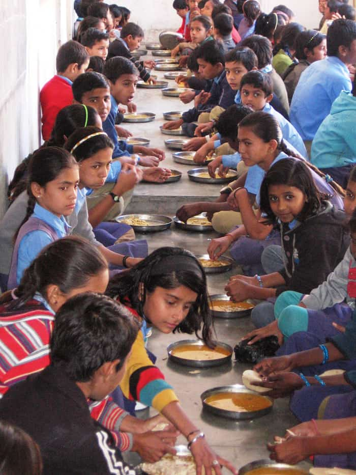 Nutrition for children in Rajasthan in a nutrition-rich mid day meal