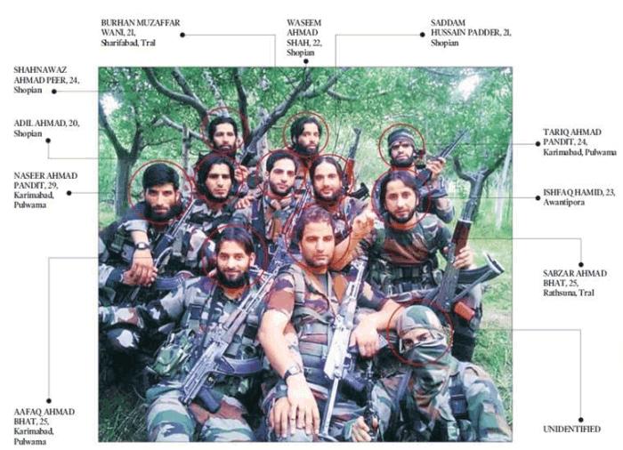kashmiri militants