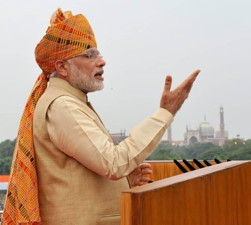 The Prime Minister, Narendra Modi addressing the Nation.(PIB)