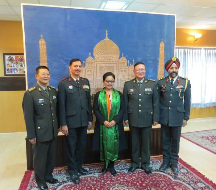 Indian Army hosts Chinese PLA in Chushul, Eastern Ladakh
