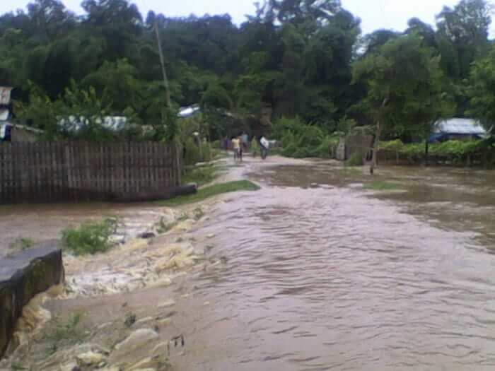 Devastating Flash Flood in Hamren Town