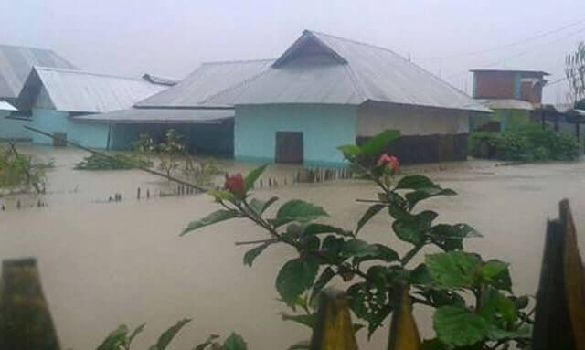 manipur-homes-flooded