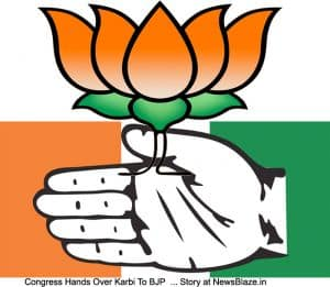 Congress hands Karbi anglong to BJP