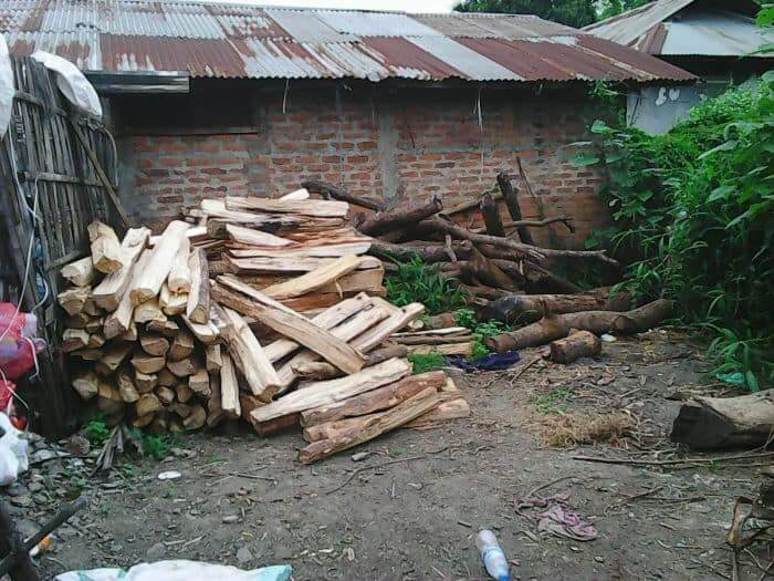 firewood at hotels