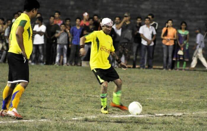 Soccer Charity Match in Assam Supports Flood-Affected Families