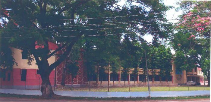Diphu Government College - front photo.