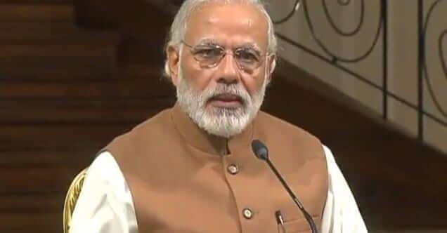 Narendra Modi.