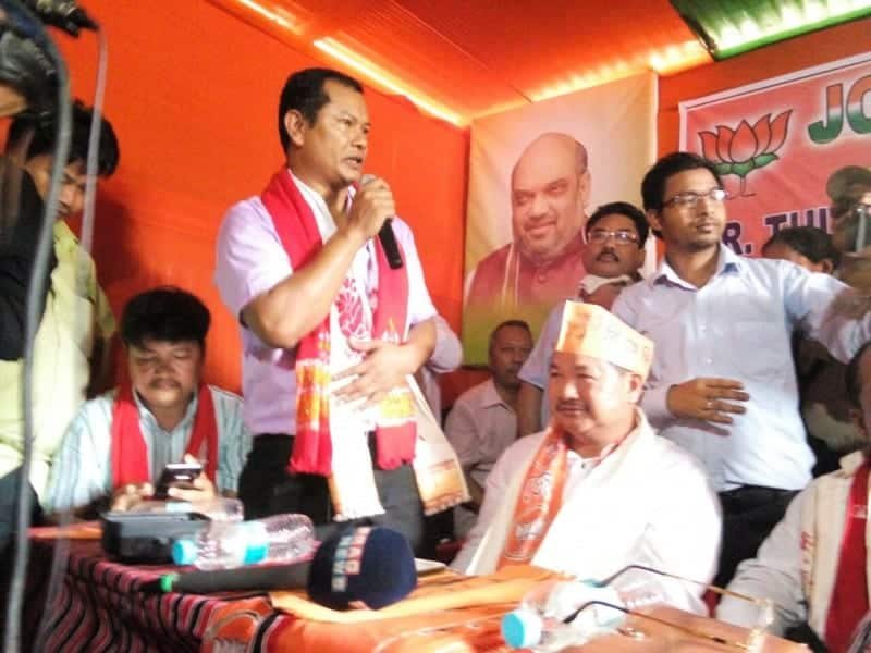 Tuliram Ronghang and KAAC Exec Committee Join BJP