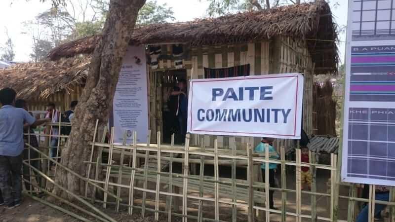 paite community display.