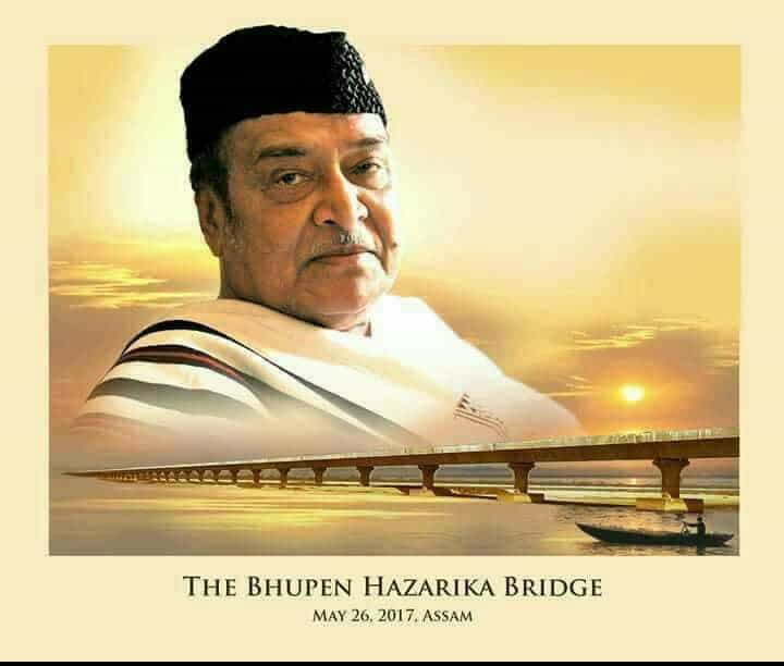 Modi Names China-Bordering Bridge After Bhupen Hazarika