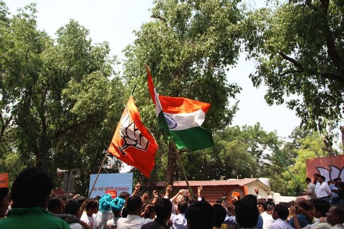 bjp flag national flag
