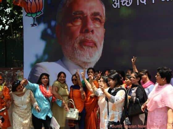 Modi And BJP Sweep India's Lok Sabha Elections 2