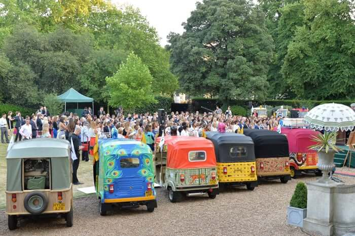 Atmosphere at the Quintessentially Foundation and Elephant Family 's 'Travels to My Elephant' Royal Rickshaw Auction presented by Selfridges and hosted by HRH The Prince of Wales and The Duchess of Cornwall held at Lancaster House, Cleveland Row, St.James's, London on 30th June 2015.