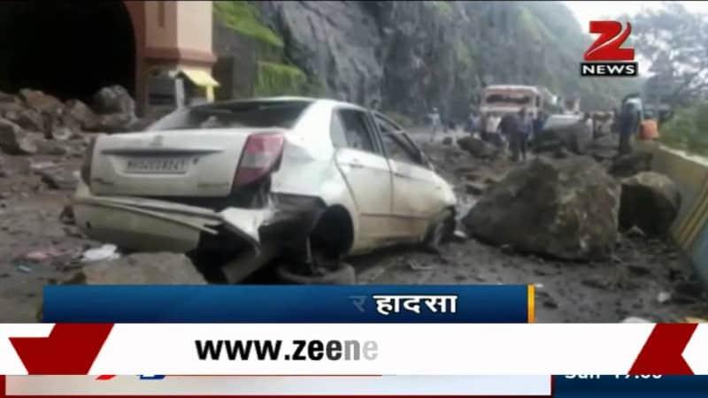 Landslide on Pune-Mumbai Highway Kills 3 1
