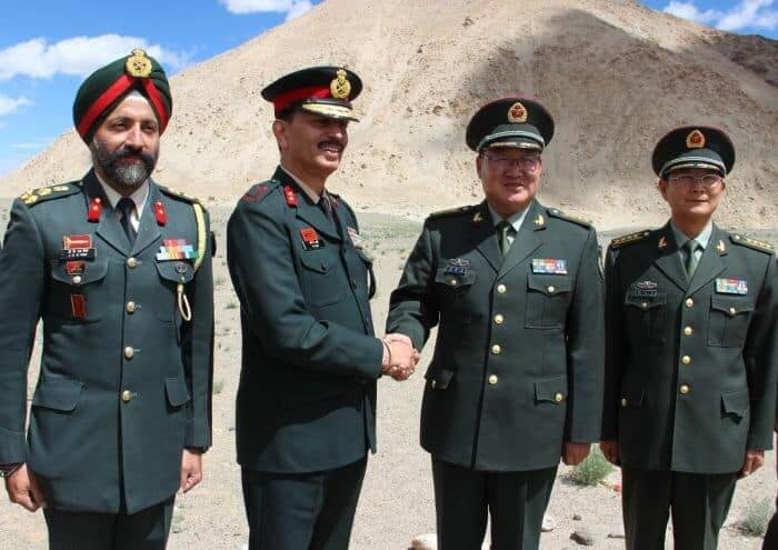 Indian Army hosts Chinese PLA in Ladakh