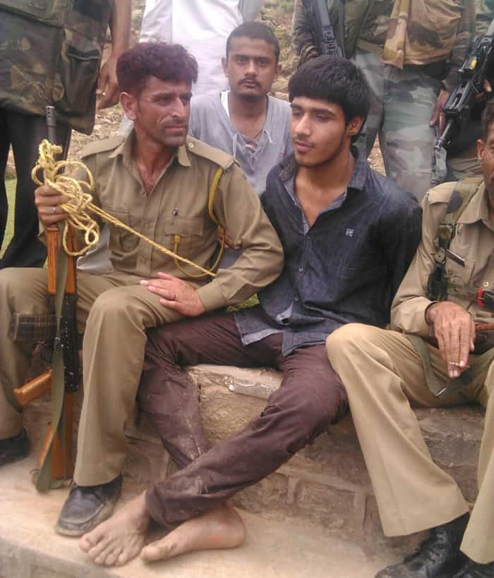 pakistani militant captured.