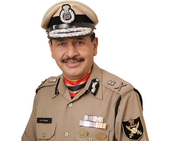 BSF Director-General Devendra Kumar Pathak