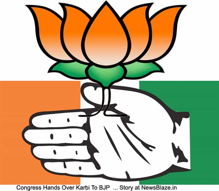 Congress hands Karbi anglong to BJP