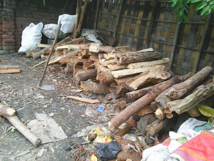stolen firewood