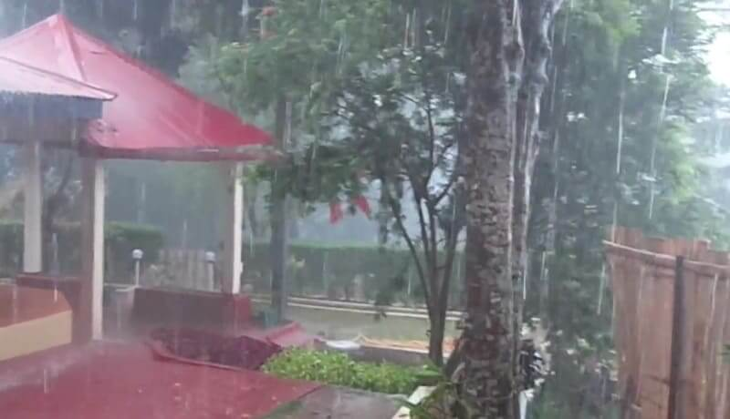rainstorm in Kheroni