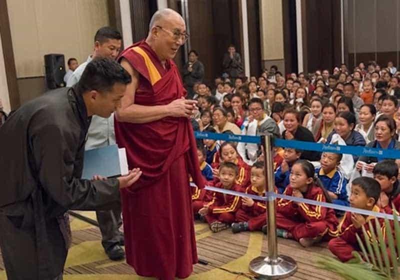 Dalai Lama visits Tawang.