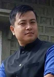 BJP MLA Heikham Dingo Singh.
