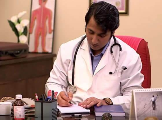indian doctor.
