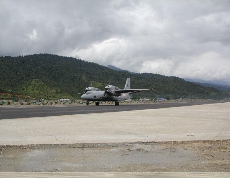 IAF military plane
