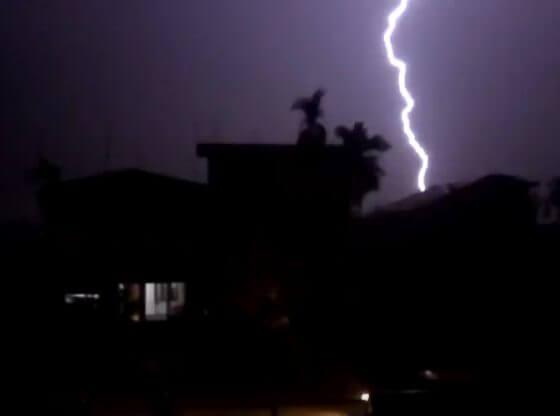 lightning, thunderstorms in assam.