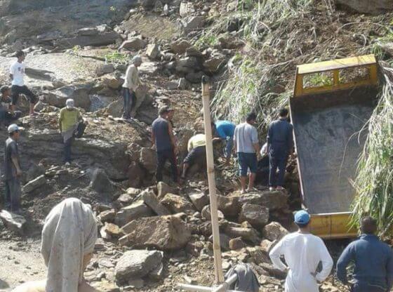 landslide in mizoram stone quarry