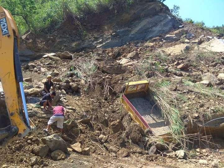 mizoram stone quarry landslide