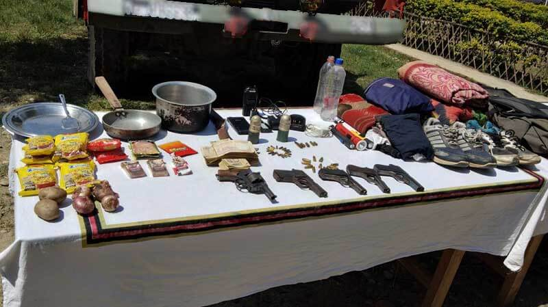 ulfa gear confiscated