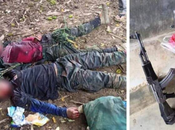 Two United People's Revolutionary Front cadres killed by police