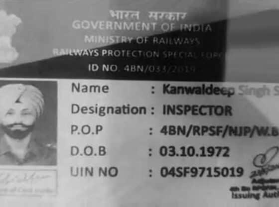 kanwaldeep singh sidhu. Police image