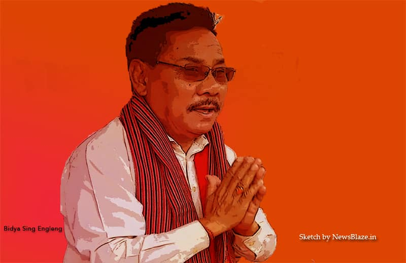 Bidya Sing Engleng, sketch by NewsBlaze.in