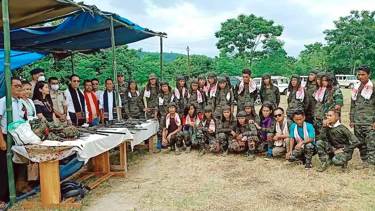 Kuki National Liberation Army choose peace. Official photo.