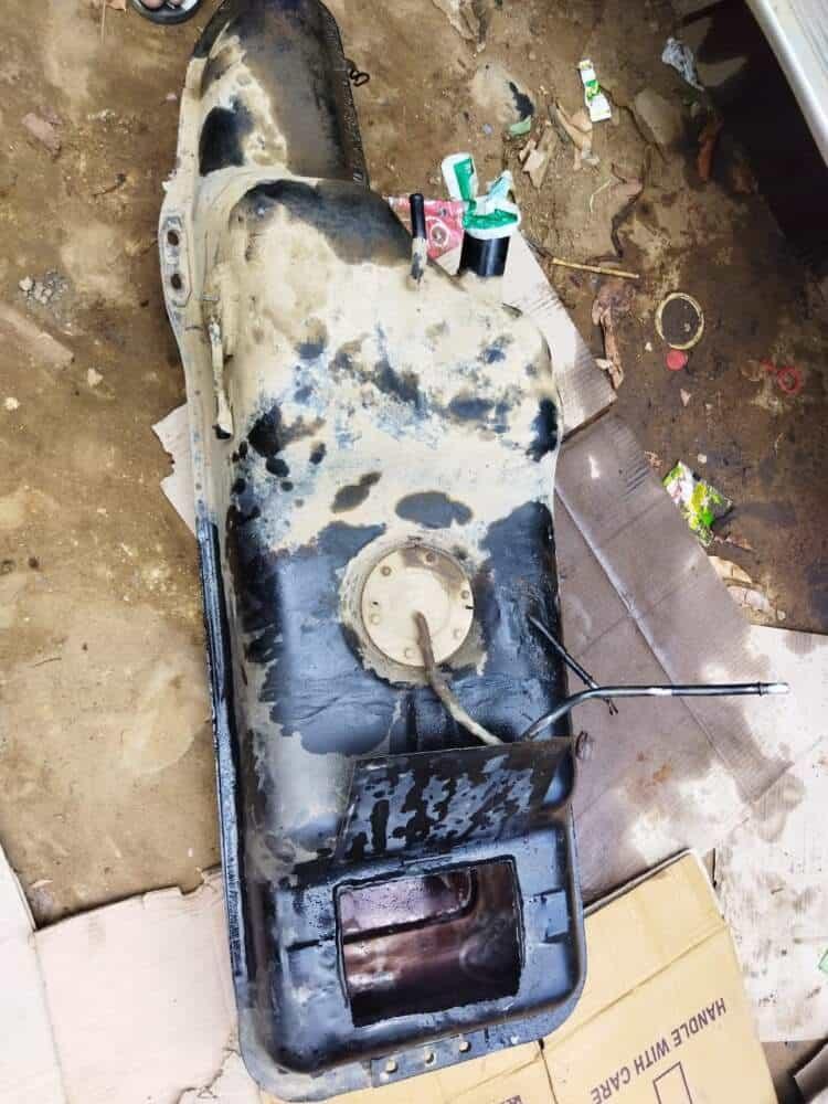 secret chamber in scorpio xuv used for heroin smuggling