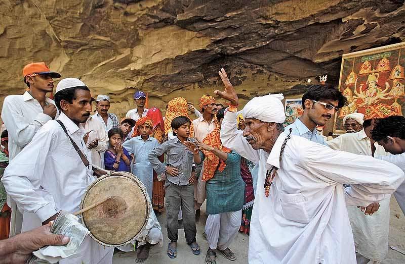 Hinglaj Mata temple and Durga Puja Puja greetings to Sanatani Baloch nationals.