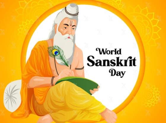 world sanskrit day. Image c/o T. Navajyoti.